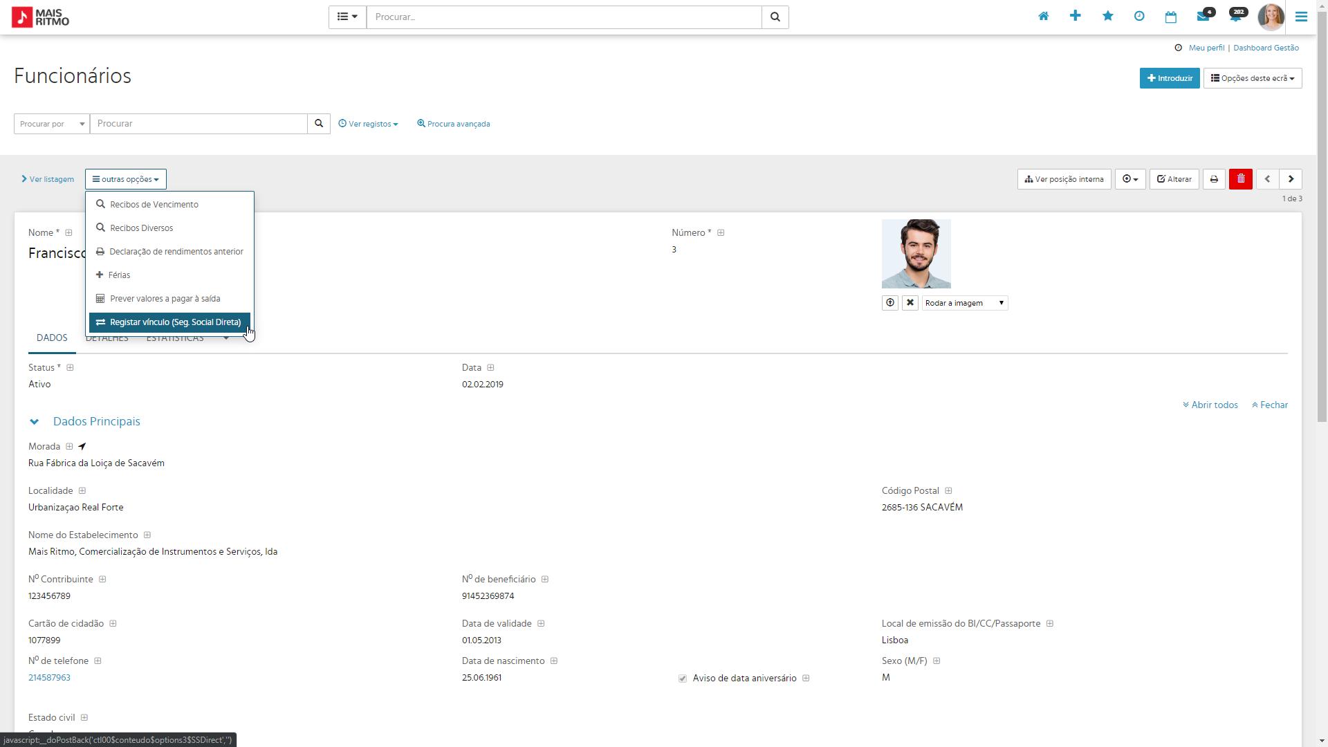 PHC CS Loja web pagamento via MB Way