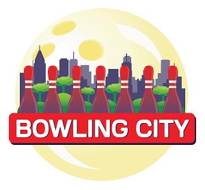 logótipo Bowling City